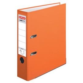 Ordner maX.file protect A4 80mm orange PP Herlitz 10556470 Produktbild