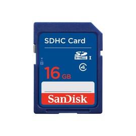 SanDisk Standard - Flash-Speicherkarte - 16 GB - Class 4 - SDHC Produktbild