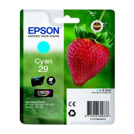 Tintenpatrone 29 für Epson Expression Home XP235/330/430 3,2ml cyan Epson T298240 Produktbild