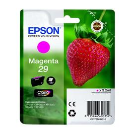 Tintenpatrone 29 für Epson Expression Home XP235/330/430 3,2ml magenta Epson T298340 Produktbild