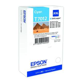 Tintenpatrone T7012XXL für Epson WP4015DN/WP4525DNF 3400Seiten cyan Epson T701240 Produktbild