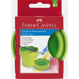 Wasserbecher CLIC & GO hellgrün Faber Castell 181570 Produktbild