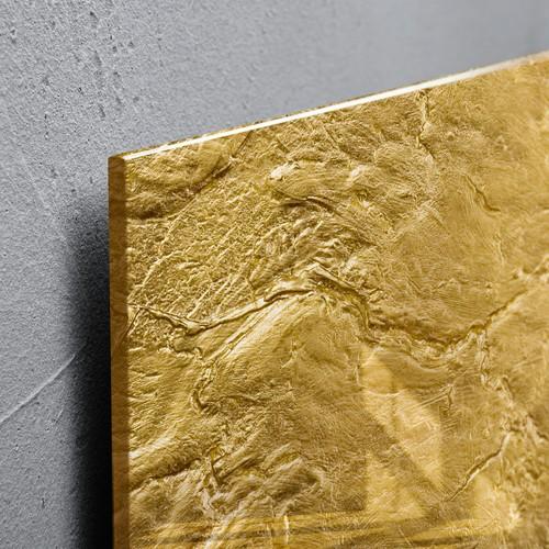 Glas-Magnetboard artverum 910x460x15mm Design Metallic-Gold inkl. Magnete Sigel GL266 Produktbild Additional View 3 L