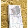 Glas-Magnetboard artverum 910x460x15mm Design Metallic-Gold inkl. Magnete Sigel GL266 Produktbild Additional View 4 S