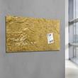 Glas-Magnetboard artverum 910x460x15mm Design Metallic-Gold inkl. Magnete Sigel GL266 Produktbild Additional View 5 S