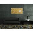 Glas-Magnetboard artverum 910x460x15mm Design Metallic-Gold inkl. Magnete Sigel GL266 Produktbild Additional View 6 S