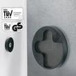 Glas-Magnetboard artverum 910x460x15mm Design Pure-Copper inkl. Magnete Sigel GL269 Produktbild Additional View 1 S