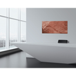 Glas-Magnetboard artverum 910x460x15mm Design Pure-Copper inkl. Magnete Sigel GL269 Produktbild Additional View 6 S