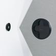 Glas-Magnetboard artverum 400x460x15mm Sechseck Smoky-Green inkl. Magnete Sigel GL281 Produktbild Additional View 1 S
