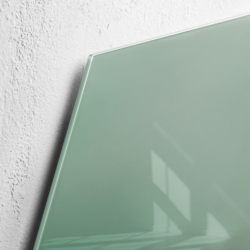 Glas-Magnetboard artverum 400x460x15mm Sechseck Smoky-Green inkl. Magnete Sigel GL281 Produktbild Additional View 2 L