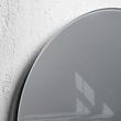 Glas-Magnetboard artverum Ø400mm Kreis Smoky-Grey inkl. Magnete Sigel GL290 Produktbild Additional View 2 S