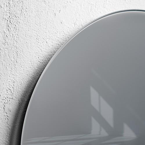 Glas-Magnetboard artverum Ø400mm Kreis Smoky-Grey inkl. Magnete Sigel GL290 Produktbild Additional View 2 L