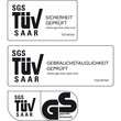 Glas-Magnetboard artverum Ø400mm Kreis Smoky-Grey inkl. Magnete Sigel GL290 Produktbild Back View S