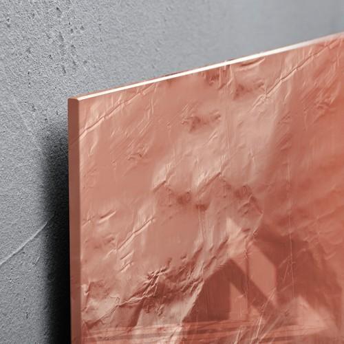Glas-Magnetboard artverum 480x480x15mm Design Pure-Copper inkl. Magnete Sigel GL265 Produktbild Additional View 2 L