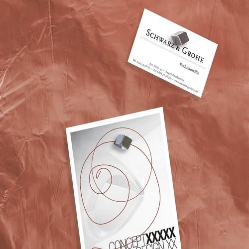 Glas-Magnetboard artverum 480x480x15mm Design Pure-Copper inkl. Magnete Sigel GL265 Produktbild Additional View 3 L