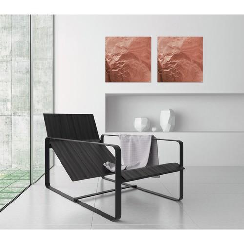 Glas-Magnetboard artverum 480x480x15mm Design Pure-Copper inkl. Magnete Sigel GL265 Produktbild Additional View 5 L