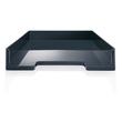 Briefablage eyestyle A4 268x50x333mm dunkelgrau/schwarz High-Gloss ABS- Kunststoff Sigel SA167 Produktbild Additional View 1 S