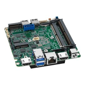 Intel Next Unit of Computing Board NUC7i5DNBE - Motherboard - UCFF - Intel Core i5 7300U - USB 3.0 - Gigabit LAN Produktbild