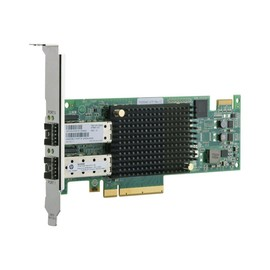 HPE SN1000E - Hostbus-Adapter - PCIe 2.0 x8 Low-Profile - 16Gb Fibre Channel x 2 - für Integrity MC990 Base, MC990 Produktbild