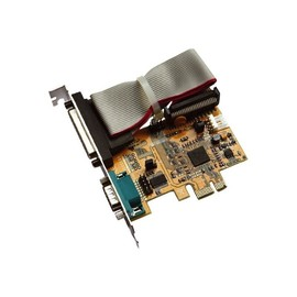 Exsys EX-44171 - Adapter Parallel/Seriell - PCIe - parallel, RS-232 Produktbild