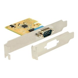 DeLock PCI Express Card 1 x Serial - Serieller Adapter - PCIe 2.0 - RS-232 Produktbild