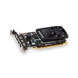 NVIDIA Quadro P600 - Grafikkarten - Quadro P600 - 2 GB GDDR5 Low-Profile - 4 x Mini DisplayPort - für ThinkStation Produktbild