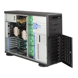 Supermicro SC743 TQ-865B-SQ - Tower - 4U - Erweitertes ATX - SATA/SAS - Hot-Swap 865 Watt Produktbild