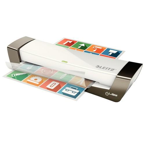 Laminiergerät iLam Office bis A4 bis 125µ silber Leitz 7251-00-84 Produktbild Additional View 1 L