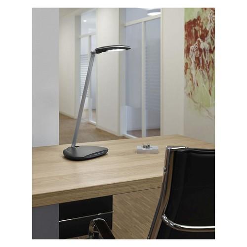Tischleuchte LED MAULpulse mit Standfuß silber 7W Maul 82019-95 Produktbild Additional View 3 L