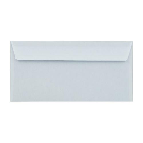 Briefumschlag SOPORSET ohne Fenster DIN lang 110x220mm mit Haftklebung 80g weiß mit blauem Innendruck (PACK=1000 STÜCK) Produktbild Additional View 2 L