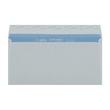 Briefumschlag SOPORSET ohne Fenster DIN lang 110x220mm mit Haftklebung 80g weiß mit blauem Innendruck (PACK=1000 STÜCK) Produktbild Additional View 1 S