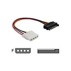 DeLOCK - Stromkabel - SATA Leistung (M) bis interne Stromversorgung, 4-polig (W) - 12 cm Produktbild
