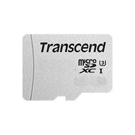 Transcend 300S - Flash-Speicherkarte - 128 GB - A1 / Video Class V30 / UHS-I U3 - microSDXC Produktbild