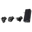 Reise-Netzteil und Powerbank Complete mit 1 Ausgang 2.1A 3000mAh Lithium- Polymer Akku schwarz Leitz 6307-00-95 Produktbild