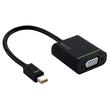 DisplayPort Adapter Mini DisplayPort auf VGA schwarz Leitz 6309-00-95 Produktbild