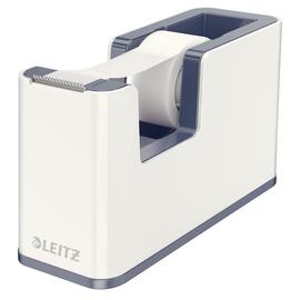 Tischabroller WOW Duo Colour befüllbar bis 19mm x 33m weiß/grau Leitz 5364-10-01 Produktbild