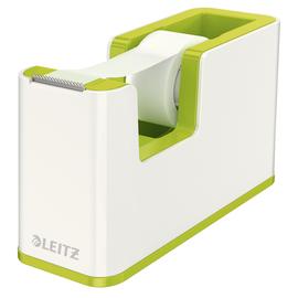 Tischabroller WOW Duo Colour befüllbar bis 19mm x 33m weiß/grün metallic Leitz 5364-10-64 Produktbild