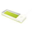 Stifteschale WOW Duo Colour mit Induktionsladegerät weiß/grün metallic Leitz 5365-10-64 Produktbild