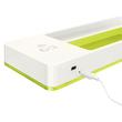 Stifteschale WOW Duo Colour mit Induktionsladegerät weiß/grün metallic Leitz 5365-10-64 Produktbild Additional View 2 S