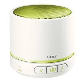 Bluetooth Lautsprecher WOW Mini Mobile weiß/grün metallic Leitz 6358-10-64 Produktbild
