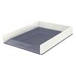 Briefkorb WOW Duo Colour für A4 267x49x336mm weiß/grau Kunststoff Leitz 5361-10-01 Produktbild