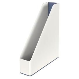 Stehsammler WOW Duo Colour 73x318x272mm weiß/grau Kunststoff Leitz 5362-10-01 Produktbild