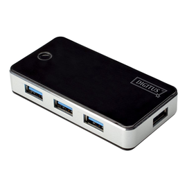 DIGITUS DA-70231 - Hub - 4 x SuperSpeed USB 3.0 - Desktop Produktbild