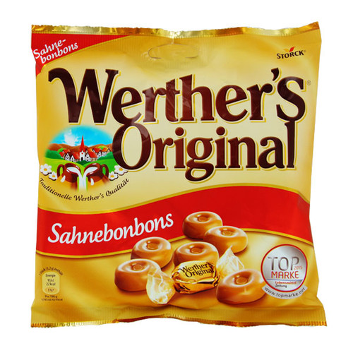 Dankeschön Werthers Original Sahnebonbons (PACK=245 GRAMM) Produktbild
