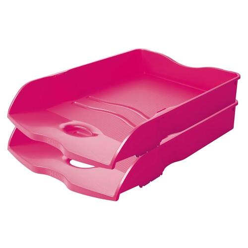 Briefkorb LOOP für A4 259x63x351mm Trend Colour pink Kunststoff HAN 10290-56 Produktbild Additional View 1 L