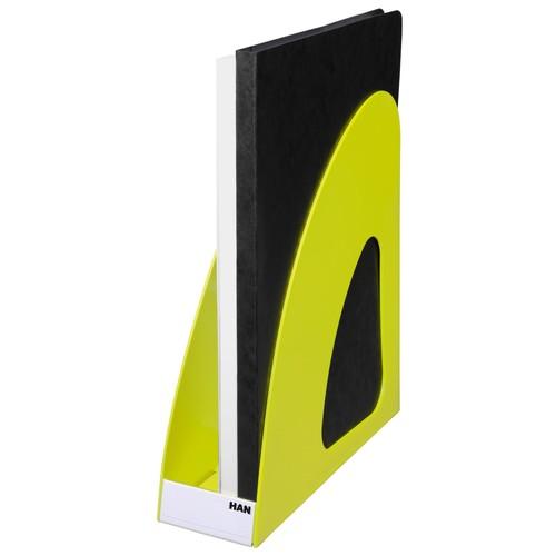 Stehsammler LOOP A4 76x239x275mm Trend Colour lemon Kunststoff HAN 16210-50 Produktbild Additional View 3 L
