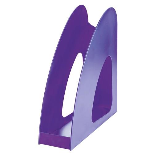 Stehsammler LOOP A4 76x239x275mm Trend Colour lila Kunststoff HAN 16210-57 Produktbild Additional View 1 L