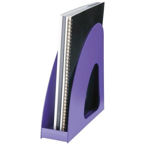 Stehsammler LOOP A4 76x239x275mm Trend Colour lila Kunststoff HAN 16210-57 Produktbild Additional View 3 L