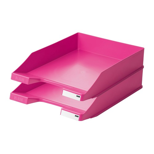 Briefkorb Standard für A4 243x57x335mm Trend Colour pink Kunststoff HAN 1027-X-56 Produktbild Additional View 1 L