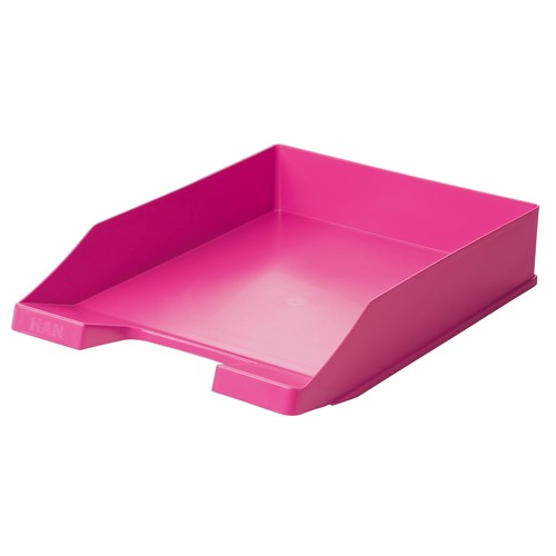Briefkorb Standard für A4 243x57x335mm Trend Colour pink Kunststoff HAN 1027-X-56 Produktbild
